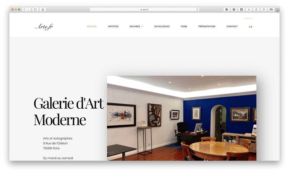 arts fr portfolio bldwebagency agence web