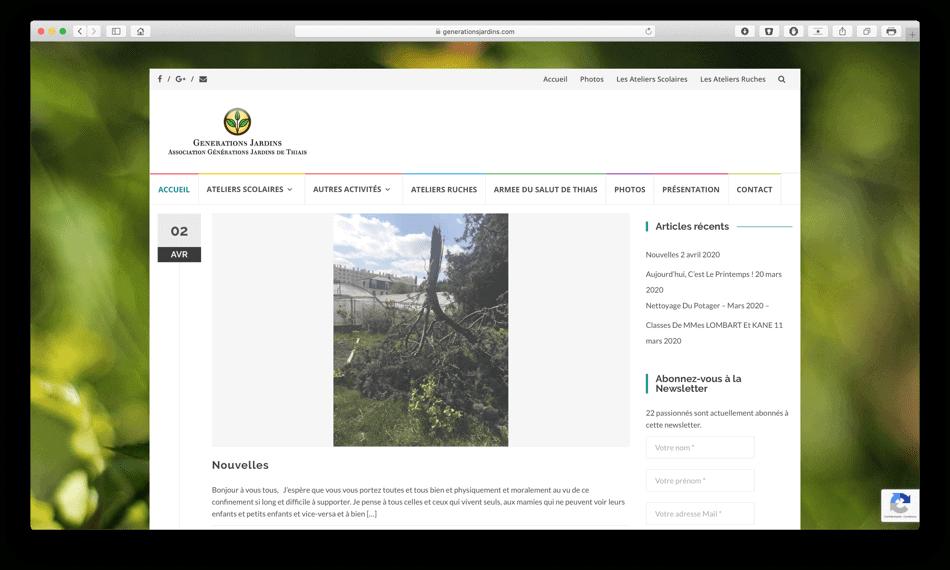 genertionsjardins portfolio bldwebagency agence web
