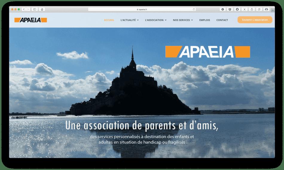 apaeia portfolio bldwebagency agence web