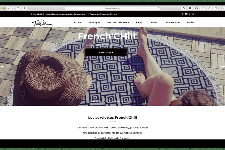 frenchchill portfolio bldwebagency agence web