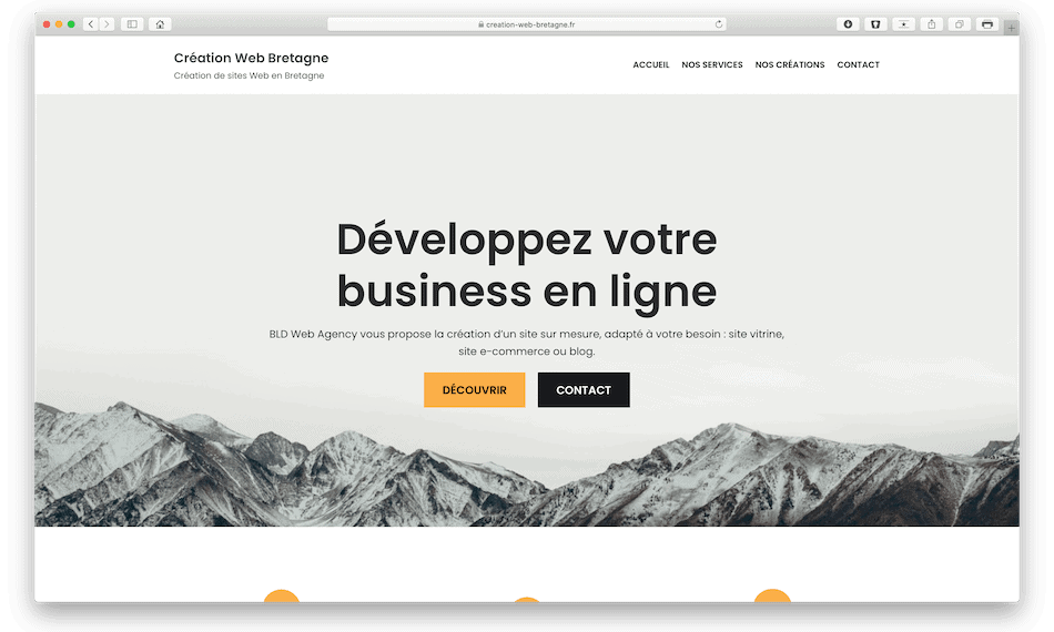 creation web bretagne bldwebagency design webmaster