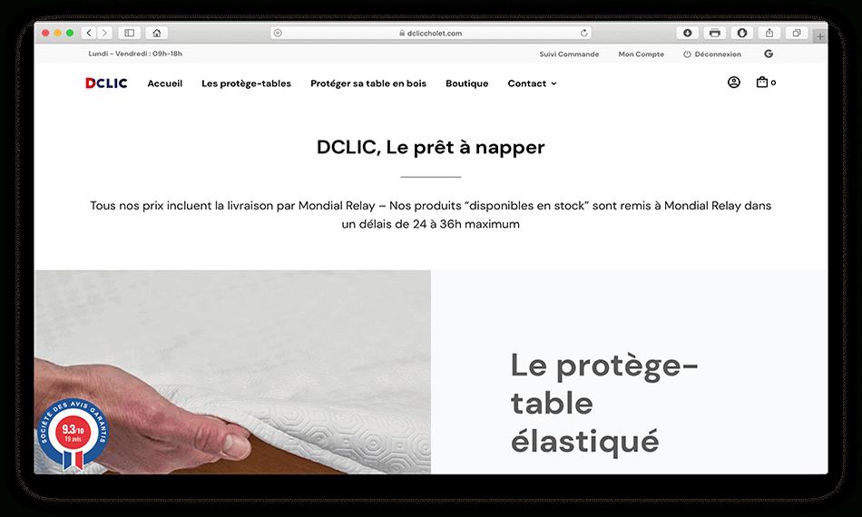 dcliccholet dclic nappe protege table elastique bulgomme